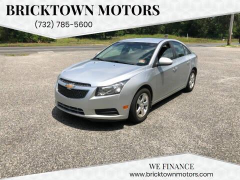 2012 Chevrolet Cruze for sale at Bricktown Motors in Brick NJ