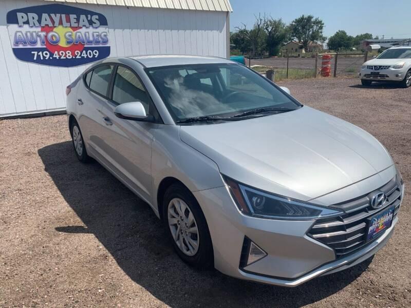 2019 Hyundai Elantra for sale at Praylea's Auto Sales in Peyton CO
