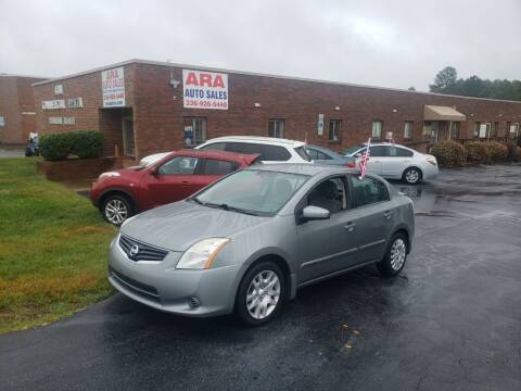 2012 Nissan Sentra for sale at ARA Auto Sales in Winston-Salem NC