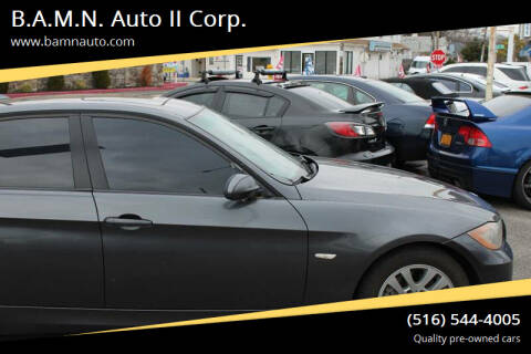 2006 BMW 3 Series for sale at B.A.M.N. Auto II Corp. in Freeport NY