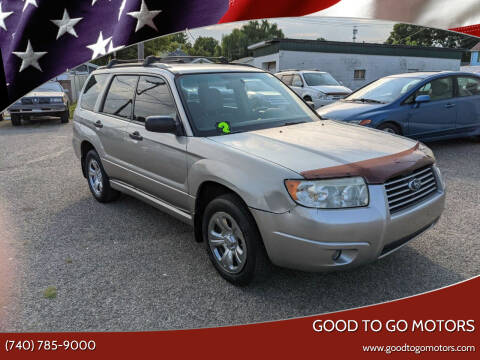 2007 Subaru Forester for sale at Good To Go Motors in Lancaster OH