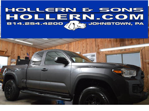 2019 Toyota Tacoma for sale at Hollern & Sons Auto Sales in Johnstown PA