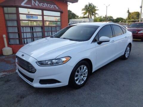 2015 Ford Fusion for sale at Z MOTORS INC in Hollywood FL