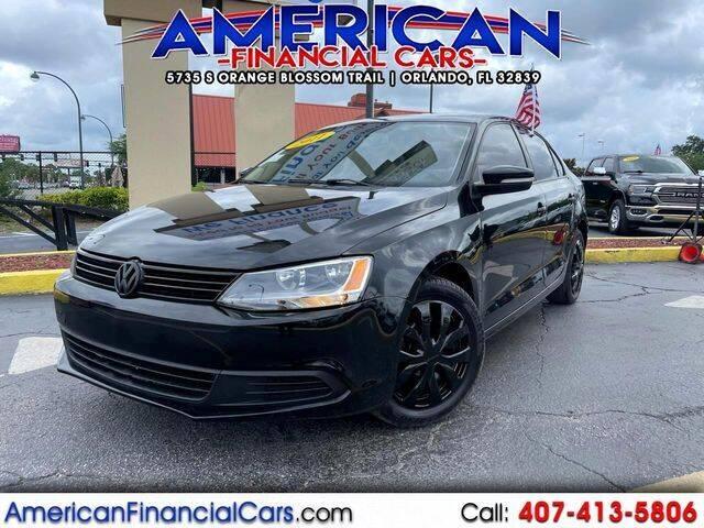 2011 Volkswagen Jetta for sale at American Financial Cars in Orlando FL