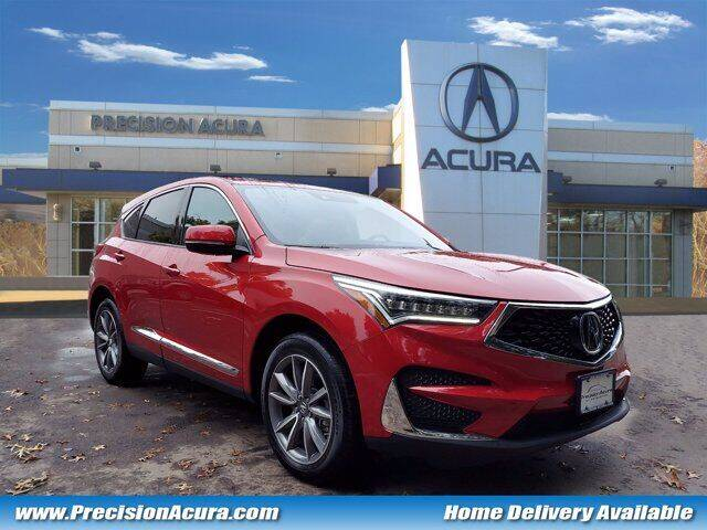 2019 Acura RDX for sale at Precision Acura of Princeton in Lawrence Township NJ