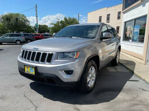 2014 Jeep Grand Cherokee for sale at ADAM AUTO AGENCY in Rensselaer NY