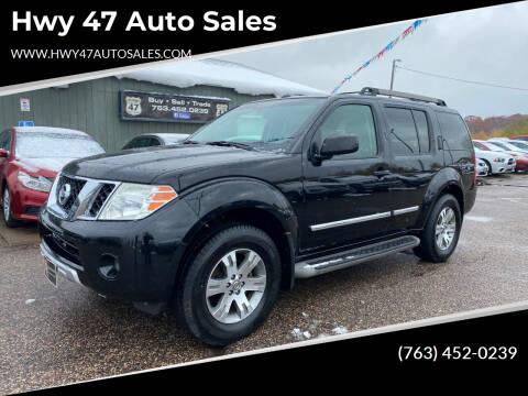 2008 Nissan Pathfinder for sale at Hwy 47 Auto Sales in Saint Francis MN