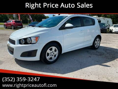 2014 Chevrolet Sonic for sale at Right Price Auto Sales in Waldo FL