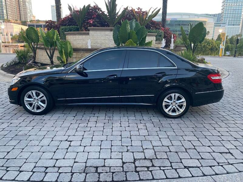 2010 Mercedes-Benz E-Class for sale at CYBER CAR STORE in Tampa FL