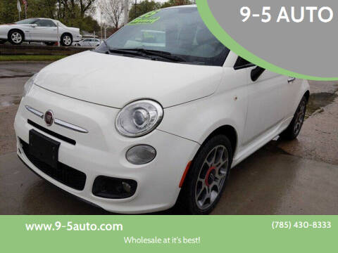 2015 FIAT 500 for sale at 9-5 AUTO in Topeka KS