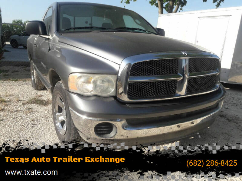 2005 Dodge Ram Pickup 1500 for sale at Texas Auto Trailer Exchange in Cleburne TX