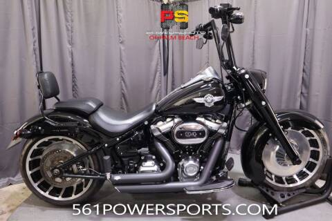 2019 Harley-Davidson Fat Boy® 114 for sale at Powersports of Palm Beach in Hollywood FL