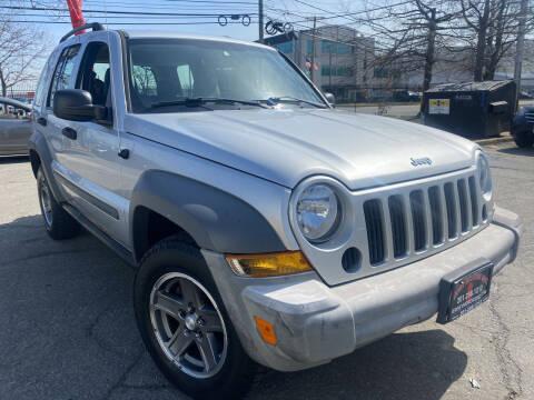 2005 Jeep Liberty for sale at JerseyMotorsInc.com in Teterboro NJ