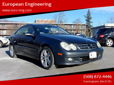 2008 Mercedes-Benz CLK for sale at European Engineering in Framingham MA
