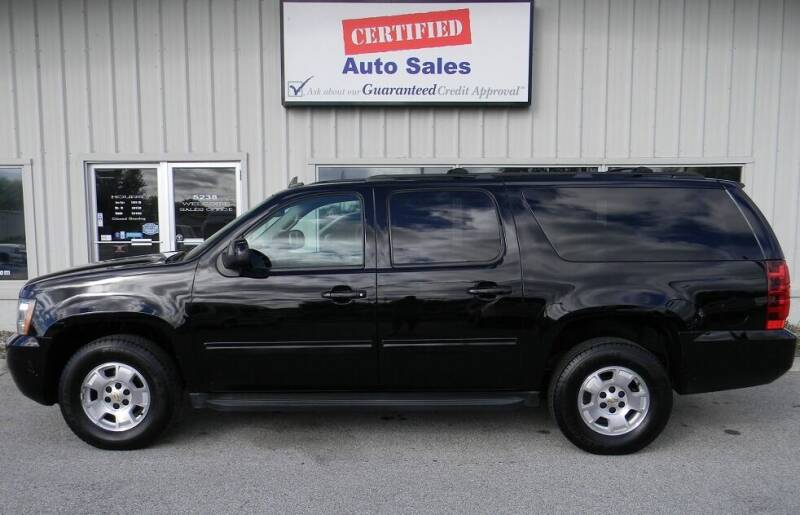 2014 Chevrolet Suburban for sale at Certified Auto Sales in Des Moines IA