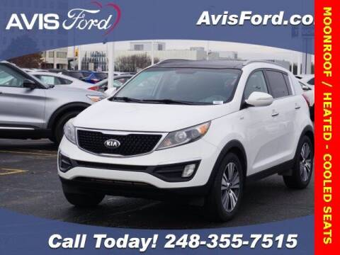 2016 Kia Sportage for sale at Work With Me Dave in Southfield MI