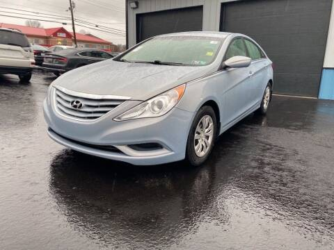 2011 Hyundai Sonata for sale at Sisson Pre-Owned in Uniontown PA