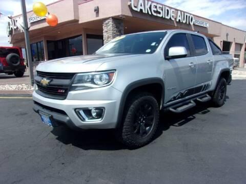 2017 Chevrolet Colorado for sale at Lakeside Auto Brokers Inc. in Colorado Springs CO