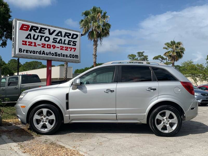 2013 Chevrolet Captiva Sport for sale at Brevard Auto Sales in Palm Bay FL