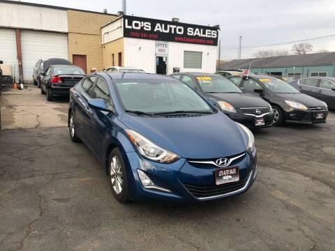 2015 Hyundai Elantra for sale at Lo's Auto Sales in Cincinnati OH