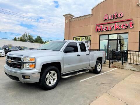 2014 Chevrolet Silverado 1500 for sale at Auto Market in Oklahoma City OK