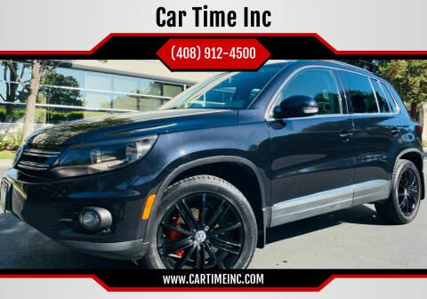 2014 Volkswagen Tiguan for sale at Car Time Inc in San Jose CA