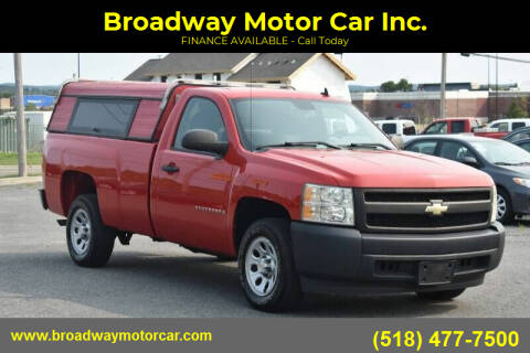 2008 Chevrolet Silverado 1500 for sale at Broadway Motor Car Inc. in Rensselaer NY