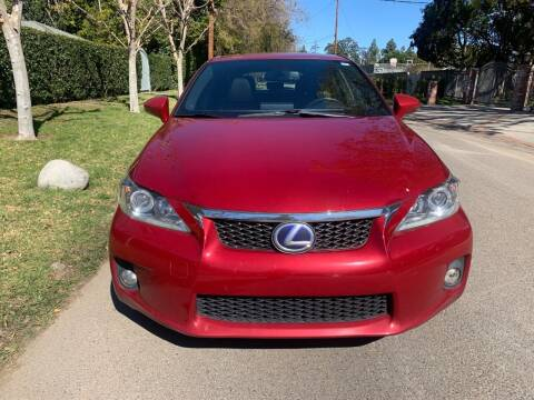 2012 Lexus CT 200h for sale at Car Lanes LA in Valley Village CA