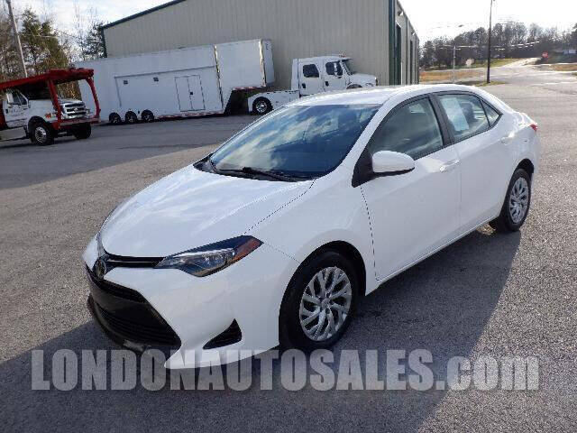 2017 Toyota Corolla for sale at London Auto Sales LLC in London KY