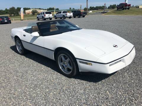 1989 Chevrolet Corvette for sale at RAYMOND TAYLOR AUTO SALES in Fort Gibson OK