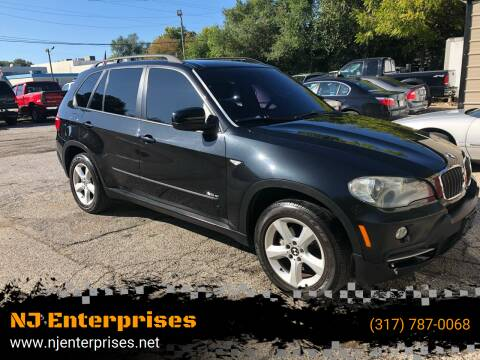 2008 BMW X5 for sale at NJ Enterprises in Indianapolis IN
