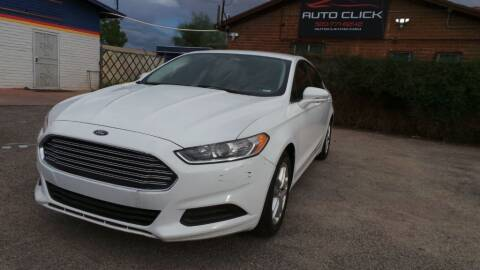 2014 Ford Fusion for sale at Auto Click in Tucson AZ