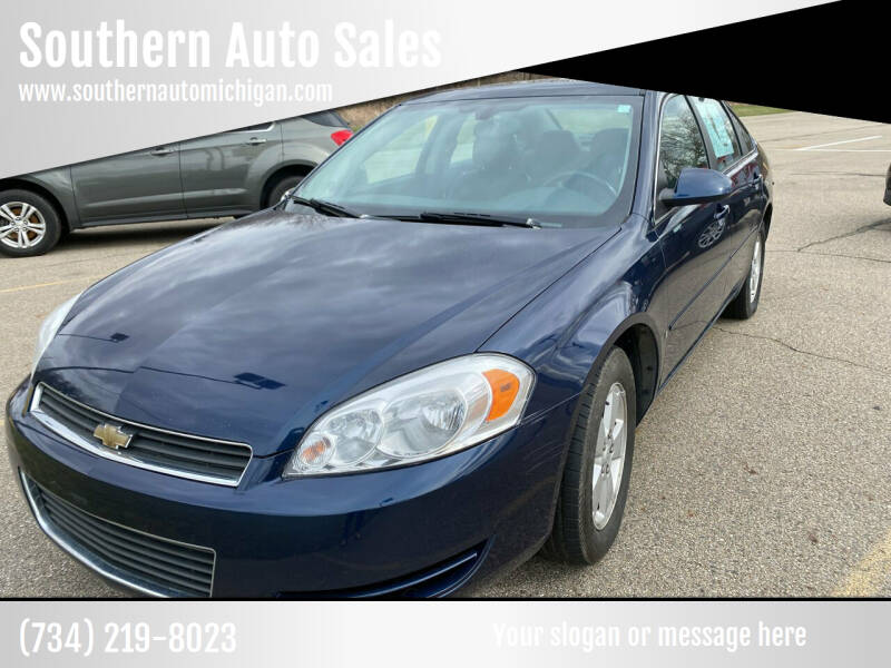 2008 Chevrolet Impala for sale at Southern Auto Sales in Clinton MI