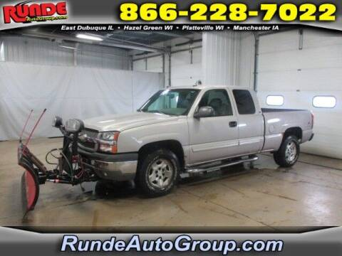 2005 Chevrolet Silverado 1500 for sale at Runde Chevrolet in East Dubuque IL