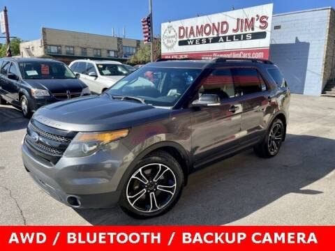 2015 Ford Explorer for sale at Diamond Jim's West Allis in West Allis WI