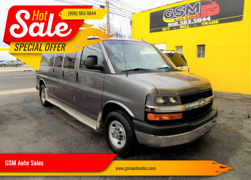 2011 Chevrolet Express Passenger for sale at GSM Auto Sales in Linden NJ