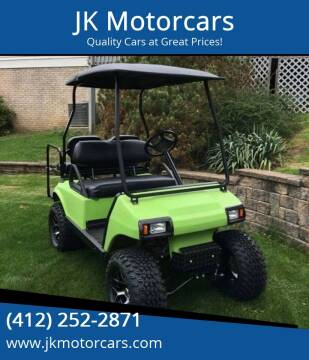 2007 Club Car Golf Cart  for sale at JK Motor Cars in Pittsburgh PA