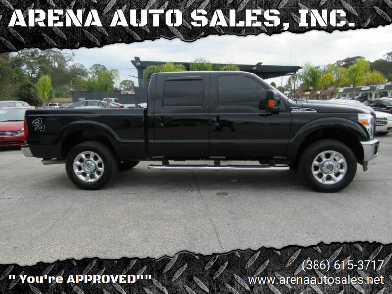 2016 Ford F-250 Super Duty for sale at ARENA AUTO SALES,  INC. in Holly Hill FL