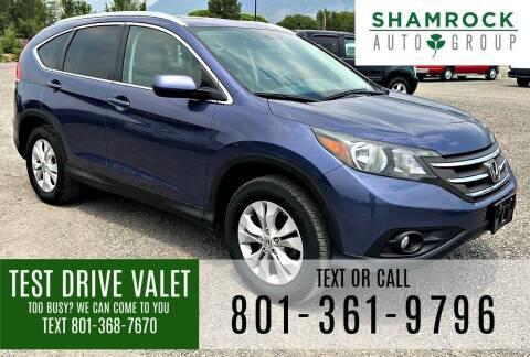 2013 Honda CR-V for sale at Shamrock Group LLC #1 in Pleasant Grove UT
