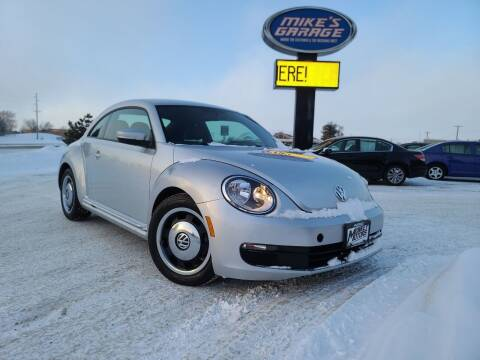 2013 Volkswagen Beetle for sale at Monkey Motors in Faribault MN