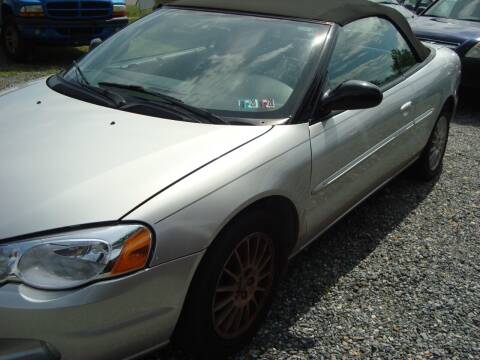 2006 Chrysler Sebring for sale at Branch Avenue Auto Auction in Clinton MD