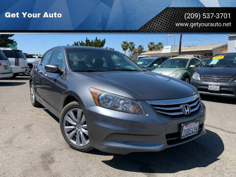 2012 Honda Accord for sale at Get Your Auto in Ceres CA