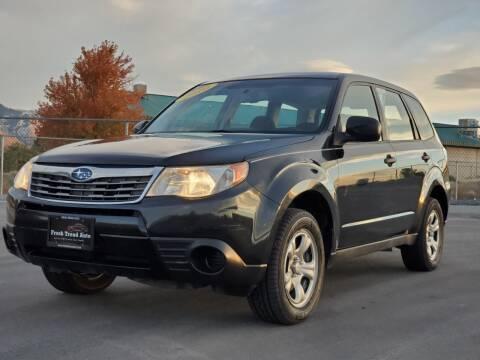 2010 Subaru Forester for sale at FRESH TREAD AUTO LLC in Springville UT