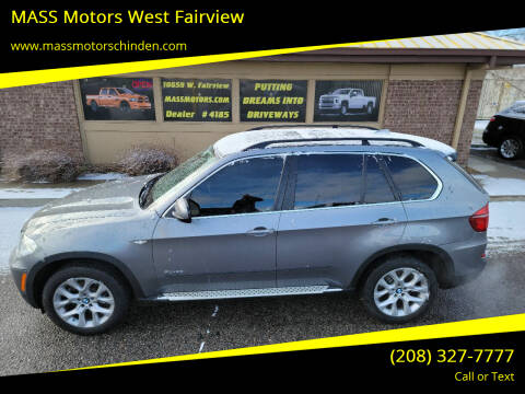 2013 BMW X5 for sale at M.A.S.S. Motors - West Fairview in Boise ID