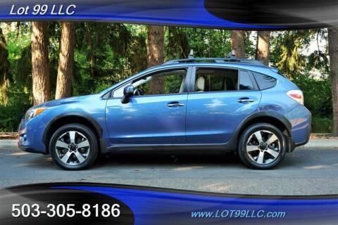2014 Subaru XV Crosstrek for sale at LOT 99 LLC in Milwaukie OR