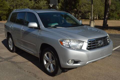 2008 Toyota Highlander for sale at Coleman Auto Group in Austin TX