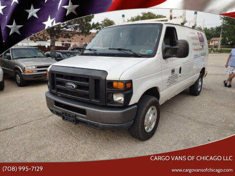 2010 Ford E-Series Cargo for sale at Cargo Vans of Chicago LLC in Mokena IL