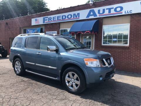 2011 Nissan Armada for sale at FREEDOM AUTO LLC in Wilkesboro NC