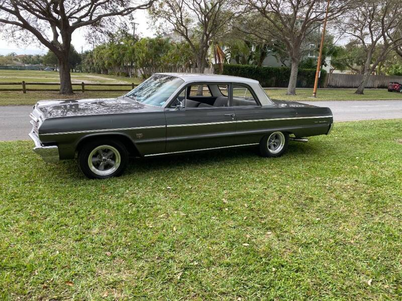 1964 Chevrolet Bel Air for sale at BIG BOY DIESELS in Ft Lauderdale FL