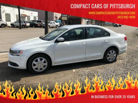 2014 Volkswagen Jetta for sale at Compact Cars of Pittsburgh in Pittsburgh PA